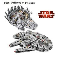 Kessel Run Millennium Falcon Star Wars Spacecraft Building Block Compatible LEGO