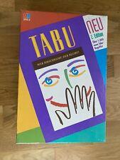 Tabu - 2. Edition  MB Spiele - guter Zustand