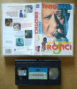 VHS Film Ita Commedia CORTI CIRCUITI EROTICI zequila ex nolo no dvd lp mc -M5-