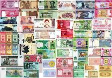 ASIA - Lotto 30 banconote differenti FDS - UNC