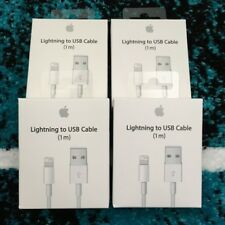 4 x Genuine Apple iPhone 7 6S Plus 5S 5C Lightning Sync Charger USB Data Cable