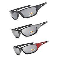 New Mens Polarized Sunglasses Driving Sports Black Lens Cycling Fishing e