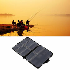 Waterproof Fishing Lure Tackle Hook Bait Storage Box Case 16 Compartments  7K