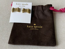 Kate Spade 14k Gold Fill Bow Earrings