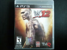 WWE 12 PS3 Complete, Tested, Sanitized, Adult Owned, Free Shipping CAN