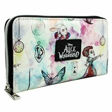 Official Alice in Wonderland Through The Looking Glass White Clutch Purse
