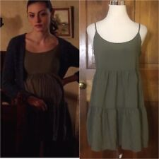 AE American Eagle Soft Tiered Babydoll Dress Medium SA ASO Hayley Marshall