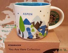 Starbucks Coffee Mug/Becher ASPEN You Are Here/YAH, BRANDNEU mit SKU i.OVP-Box!