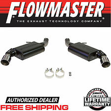 FLOWMASTER 817744 Axle Back Exhaust System 2016-2017 Chevy Camaro SS 6.2L V8