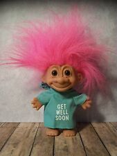 "5"" Pink Haired Russ Troll- Hospital Gown, Patient, Sick - Bottom, Bum"
