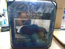 London Fog Garment Washed Crinkle Quilt Set