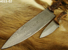 Alistar Set of 2 Handmade Damascus Knife Hunting/ Kitchen/Chef's Knives (4015-2