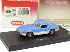 Kyosho 1/43 - Lotus Elan S4 Sprint Bleue