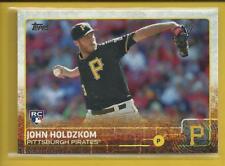 John Holdzkom RC 2015 Topps Series 2 Rookie Card # 581 Pittsburgh Pirates MLB