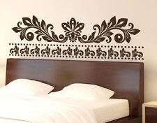 Wall Stickers Testata Letto Ornamento Adesivo Murale Stichers Decorazione