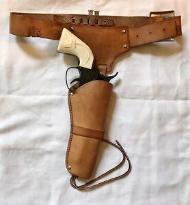 Vintage Mattel FANNER 50 DIECAST CAP GUN Pistol Antelope Handle