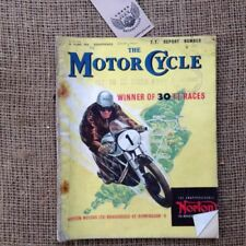 Numbered Motorcycles Motor Cycling Magazines