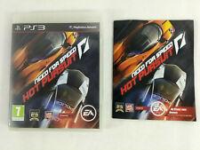 Playstation 3 PS3 Need for Speed Hot Pursuit boite notice PAS DE JEU Envoi suivi