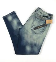 Cult of Individuality Mens 34 Straight Leg Denim Stretch Sweat Pants Kaan Wash