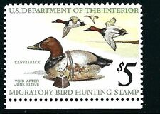 US SCOTT #RW42 - FEDERAL DUCK - MINT NEVER HINGED -  SCV $15.00