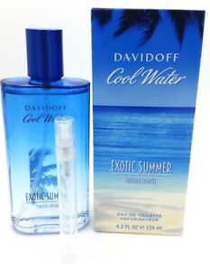 Davidoff Cool Water Exotic Summer Eau De Toilette 5ml Sample Spray