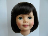 NEW STYLE ! Cathie Lee! wig for Patti , Patty Playpal DORIS MED. Brown 19 1/2 sz