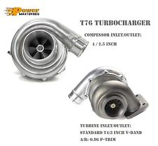 "T76 Universal Performance Turbo Charger 0.96 A/R P Trim T4 3"" V-band Exhaust"