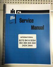 B-414 International Technical Service Shop Repair Manual Farmall B414 B 414