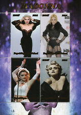 Chad 2014 MNH Madonna 4v M/S Music Celebrities Famous People Stamps