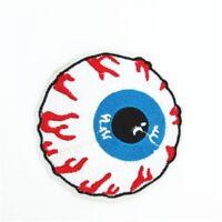 Krazy Eyeball Embroidered Patch - kar kulture rat fink rat rod psycobilly