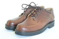 "Nicks Handmade Boots Leather Comstock Oxford 3"" Men's Size 11.5D"