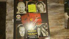 Undertaker Wrestlemania Poster 11X14 WWE  WWF