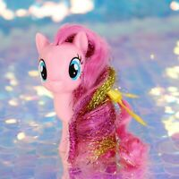 My Little Pony PINKIE PIE Pink Balloons Glitter Tinsel G4.5 FiM MLP Movie BA970