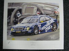 Litho The Silver Dream Collection by Hesselbes Mercedes CLK DTM 2001 #10 (JS)