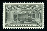 USAstamps Unused XF-S US Special Delivery Scott E19 OG MNH Superb Jumbo