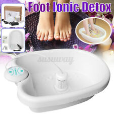 Home Ionic Detox Foot Basin Bath Spa Cleanse Machine Relax Refresh Body Gift