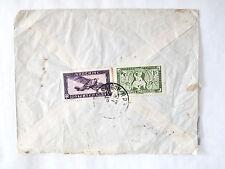 Enveloppe Timbrée de Saïgon du 26/9/1950  vers Tournon, France