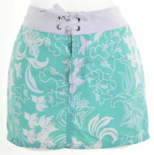 TOMMY HILFIGER Womens Skirt W20 L12 Green Floral Nylon