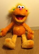"Nanco Sesame Street Zoe Wearing Necklace 18"" Plush Stuffed Animal Toy 2003"