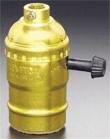Turn Knob Lamp Socket,No 0517090PG,  Leviton Mfg Co
