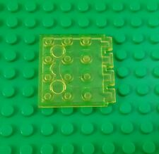 Lego Classic Yellow Translucent 4x4 Stud Roof Rare Space Hinge Plate - 1 piece