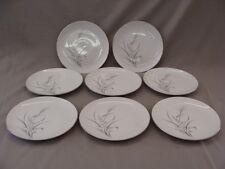 CastleCourt Fine China Wheat Spray Pattern 8 Salad Plates, Made In Japan