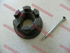 King Kutter Rotary Cutter Castle Nut and Cotter Pin for Gearbox Code # 501110