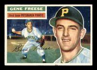 1956 Topps White Back #46 Gene Freese DP EXMT X1321026