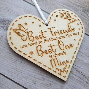 Sister Birthday Card Gift Plaque Best Friend Friendship Keepsake for Christmas
