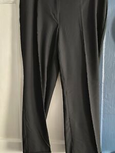 Ladies Marks & Spencer Black Trousers Size 20 L30
