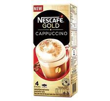 NESCAFE GOLD CAPPUCCINO Premix Coffee Powder Finely Ground Roasted Coffee 4stick
