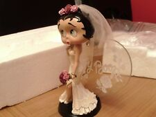 BRAND NEW Porcelain Danbury mint WEDDING BETTY Boop Statue Figurine Ornament