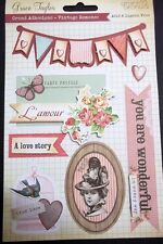 Grace Taylor - Grand Adhesions - *VINTAGE ROMANCE* Scrapbooking/Cardmaking