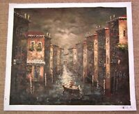 Venice Italy Oil Painting Signed